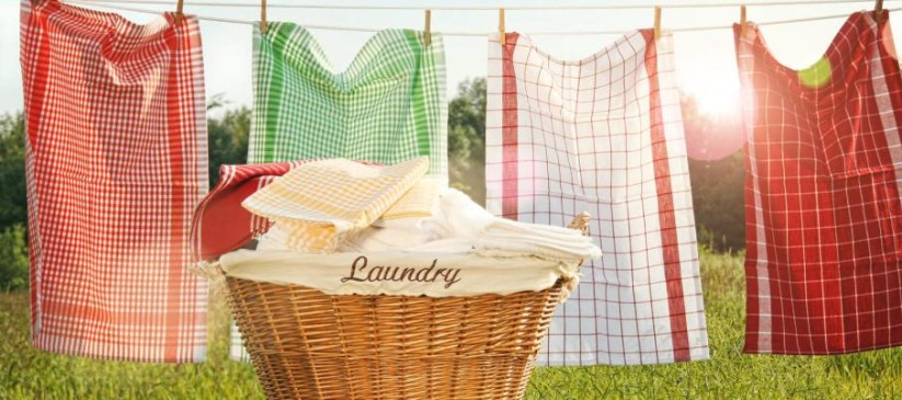 cotton-towels-drying-on-the-clothesline
