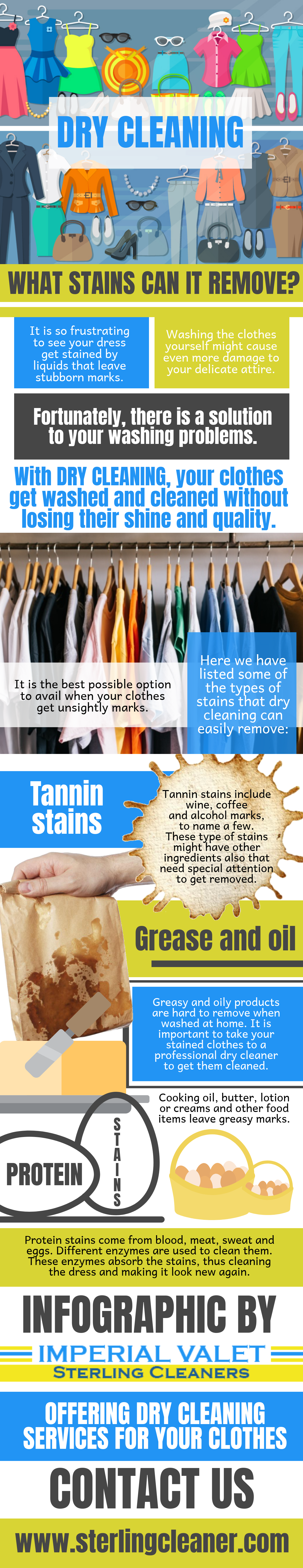 Stains Can Be Removed By A Dry Cleaner