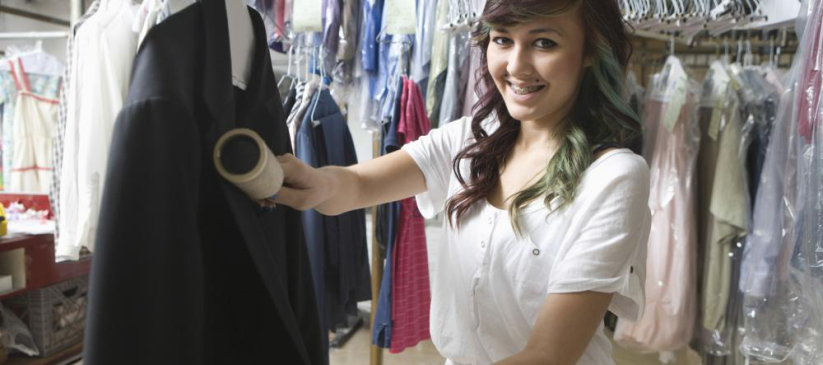 Picture showing dry cleaning vs laundry Washington dc