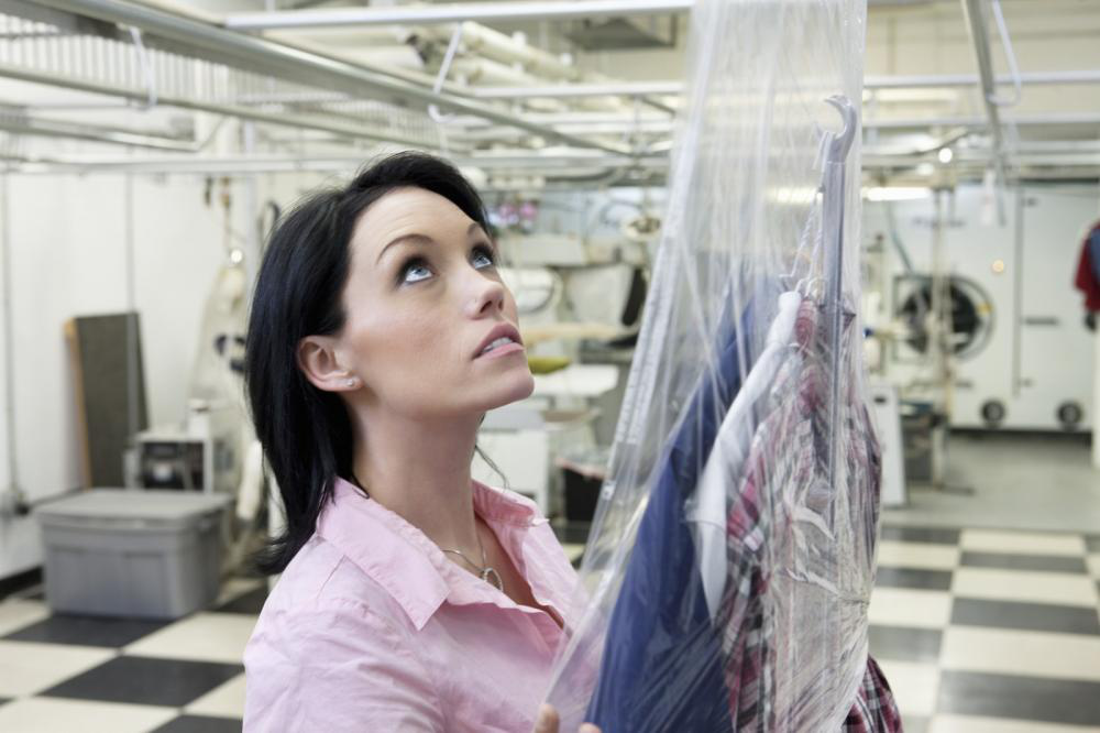 Image showing dry cleaning service dc