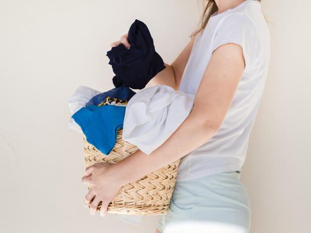 Image showing laundry pickup and delivery dc