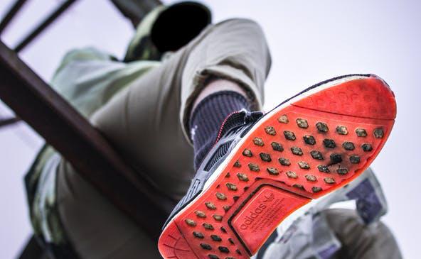 Image showing shoe repair