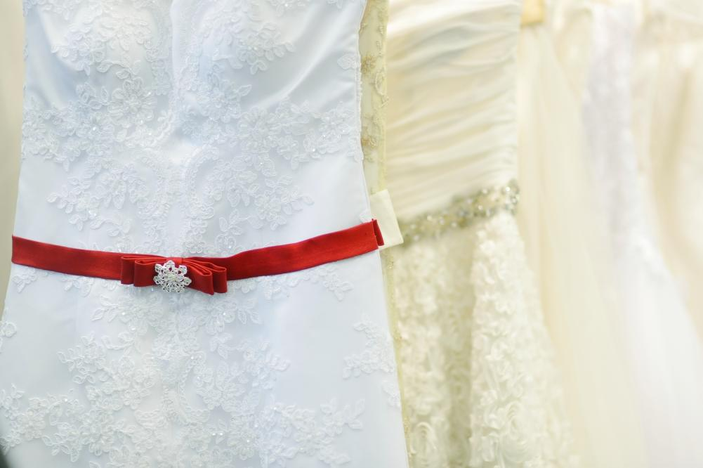 Beautiful wedding gowns for alterations