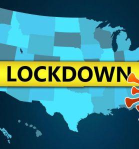 Coronavirus lockdown in the US