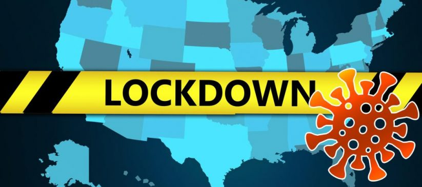 Coronavirus lockdown in the US