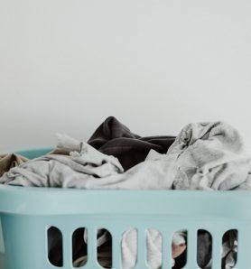 Freshly-washed laundry